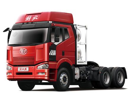 13L解放J6天然气牵引车 6×4