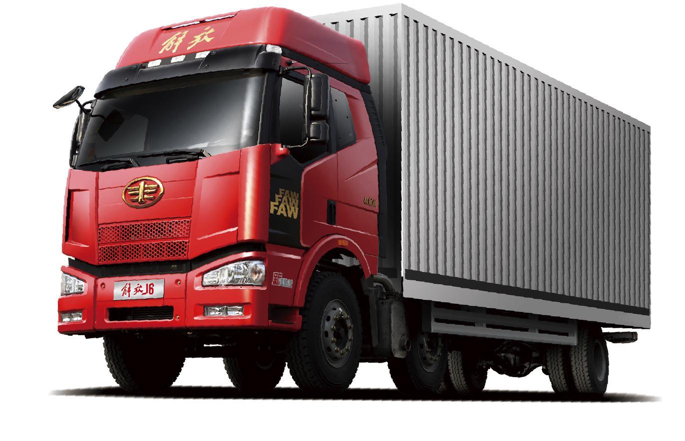 解放J6M 9.5米载货车 6X2(国五)